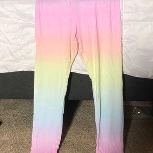 NEW Rainbow PJ set (Pink)